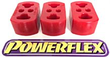 Powerflex Exhaust Mounts x 3